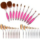 10PCS Girl Makeup Powder Blusher Cosmetic Toothbrush Shaped Foundation B20E
