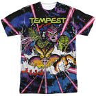 Atari Tempest Key Art Gamer Allover Sublimation Licensed Adult T Shirt