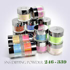 SNS Nail Color DIPPING POWDER No Liquid,No Primer,No UV Light U Pick 1oz 246-338