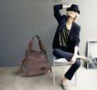 Women Canvas Big Capacity Handbags Hobo Messenger Cross Body Bags Fashion Hot