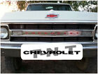 69,70 ,1969, 1970 Chevy Truck Pickup CHEVROLET imbossed grill decal Letters
