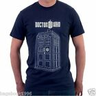 Doctor Who Officially Licensed TARDIS Men's T-shirt Tee Tshirt  (NEW) DR6