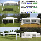 10' 20' 30' Canopy Party Wedding Outdoor Tent Gazebo Pavilion w 4 5 8 Side Walls