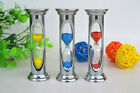 Metal Sand Clock Watch Hourglass Timer 3 Minutes Home Decor Children Gift Toy