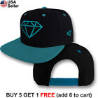 Diamond Supply Cap Logo Hat Snap Back Embroidered Urban Style Hip Hop Emblem Men