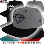 Diamond Supply Co Cap Logo Hat Snap Back Embroidered Urban Style Hip Hop Emblem