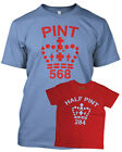 PINT HALF PINT FATHER SON/DAUGHTER BABY KIDS T shirt FATHERS DAY GIFT XMAS