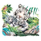 White Tiger Family  Hoodie Sizes/Colors