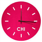 CHICAGO FELT CLOCK