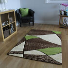 New Trendy Luxury Green Hallway Runner Rugs Cheap Soft Abstract Rug Runners