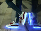 Unisex Fashion USB Charging Luminous Shoes Shine Casual Entertainment Shoes