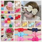 Kids Baby Girls Toddler Flower/Bowknot Headband Hair Band Headwear Accessories