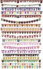 JOINTED LETTER BANNER - LICENSED CHARACTER DESIGNS Range (Birthday Party){SetB}