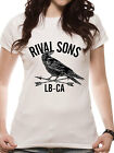 Official Rival Sons (Crow) Fitted T-shirt - All sizes