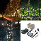 Solar Power 200 LED String Fairy Light Outdoor For Graduation Party Waterproof