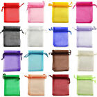 30 100pcs Organza Wedding Xmas Party Favor Gift Candy Bags Jewellery pouches