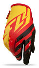 FLY Racing Kinetic 2015 Mens MX/Offroad Gloves Red/Black/Yellow