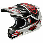 Shoei VFX-W Reputation Helmet White/Black/Red