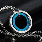 AgentX Mens Star Signs Love Circle Pendant Necklace Chian Boyfriend Couples Gift