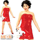 Betty Boop Ladies Fancy Dress Movie Costume + Wig