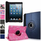 For Apple iPad Mini 2 3 Pu Leather 360 Rotating Folding Smart Stand Case Cover