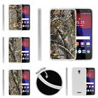 For Alcatel POP 4+ Slim Fitted Flexible TPU Case Tree Camouflage