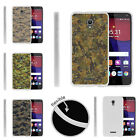 For Alcatel POP 4+ Slim Fitted Flexible TPU Case Digital Camouflage