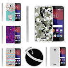 For Alcatel POP 4+ Slim Fitted Flexible TPU Case Swamp Camouflage