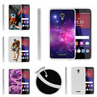 For Alcatel POP 4+ Slim Fitted Flexible TPU Case Galaxy Stars