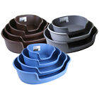 Plastic Pet Bed Heavy Duty Waterproof Cat Dog Basket Large Comfortable 4 Sizes