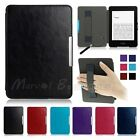 For Amazon Kindle/Kindle Paperwhite Ultra Thin Magnetic Leather Smart Case Cover