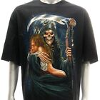 r136 Rock Eagle T shirt Tattoo Sexy Lady Sacrifice Halloween Grim Reaper Horror