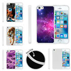 For Apple iPhone SE | iPhone 5/5s Slim Fitted Flexible TPU Case Galaxy Stars