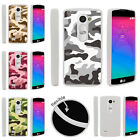 For LG Power | LG Destiny | LG Sunset Slim Fitted Flexible TPU Case Army Camo