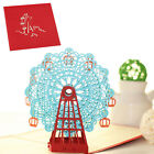 Ferris Wheel 3D Pop Up Greeting Card For Birthday Christmas Wedding Party