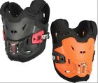 NEW LEATT KIDS 2.5 CHEST PROTECTOR BACK ARMOR BMX ATV MX OFFROAD BRACE SUPPORT