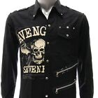 Sz S M L XL 2XL Avenged Sevenfold A7X Long Sleeve Shirt Punk Tee Many Size Jav2