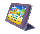"""Faux Leather Case + USB + Stylus for RCA 7"""" RCT6077W2 Tablet"""
