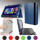 "SMART PU Leather Case Cover Stand For ASUS Transformer BOOK T100TAM 10.1"" New"