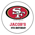NFL Football Logo Personalized Birthday Party Favor Labels Stickers 32 Teams $6.95 USD on eBay