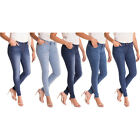 Alta Women's Skinny Jeans Designer Fashion Stretch Pants Paint Splash Denim