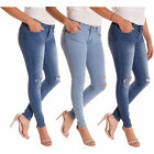 Alta Women's Distressed Jeans Designer Fashion Skinny Denim 5 Pocket Pants