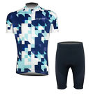 New Mens Bike Road Bicycle Gear Jerseys Tights Padded Lycra Riding Tops Shorts