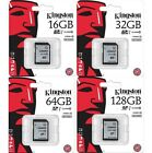 Kingston SD10VG2 16GB 32GB 64GB 128GB SDHC SDXC UHS-I Class 10 Camera Card lot