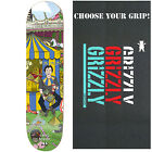 ENJOI R7 EPOXY Skateboard Deck CARNIVAL FOSTER 8.38 with GRIZZLY GRIPTAPE