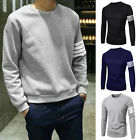 New Stylish Henley Slim Fit Casual Shirt Tee Cotton Men's Long Sleeve T-Shirt YG