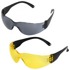 Safety Glasses Spectacles Lightweight Specs Eye Anti Scratch Protection EN166