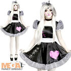 Broken Rag Doll Ladies Fancy Dress Halloween Dolly Adults Womens Horror Costume