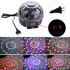 E27 6W LED RGB DJ Club Disco Party Crystal Magic Ball Effect Lights Stage Lamps