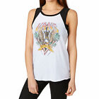 Vans Tops - Vans Tropical Trucker Vest Top - White/Black